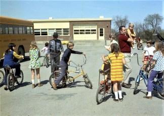 4H Testing Bikes at Ockawamick School 1972 (2)