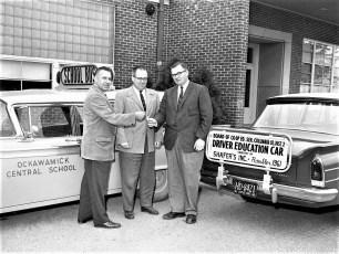 OCS new driver ed car 1960