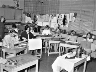Ockawamick Central School Art Class 1968