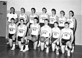 Ockawamick Central School Basketball Team 1967