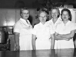 Ockawamick Central School Cafeteria Staff 1958 59