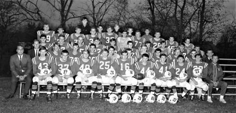 Ockawamick Central School Football Team 1967