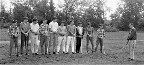 Ockawamick Central School Golf Team 1968