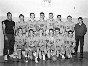 Ockawamick Central School JV Basketball 1958 59