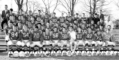 Ockawamick Football Team Nov. 1964