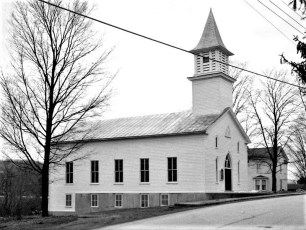 Mellenville Dutch Reformed Church Rt. 217 Mellenville 1958