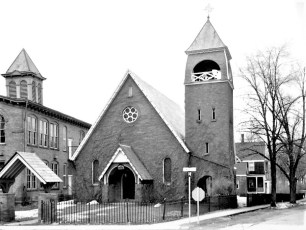 St. Marks Episcopal Church Main & Maple Sts. Philmont 1958