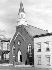 St. Matthew's Lutheran Church Hudson 1957