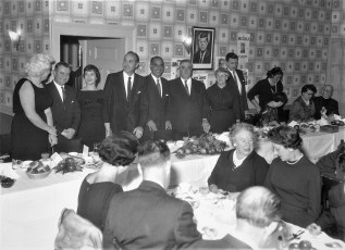 Democrat Dinner at Col. Country Club 1961