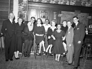 Democrat Dinner at General Worth Hotel Hudson 1954 (2)