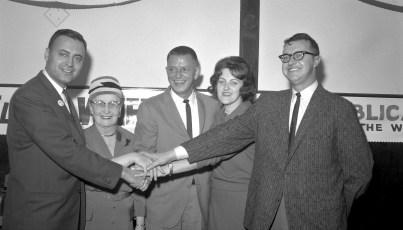 Election Night Sam Wheeler Elected Mayor City of Hudson 1963