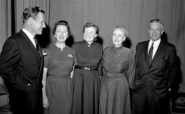 Nelson Rockefeller visits Chatham High School 1956 (1)