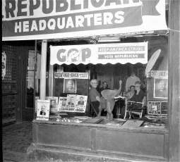 Republican Headquarters 701 Warren St. Hudson 1956 1