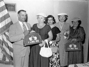 Republican Woman's Club Luncheon speaker Jay Moore Spencertown 1956