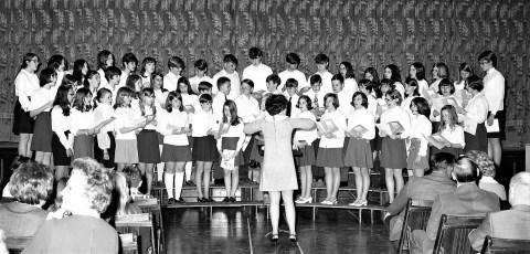 Red Hook Jr. High Spring Concert 1969