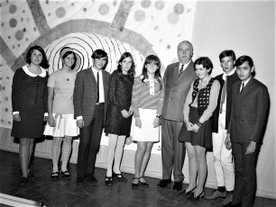 Red Hook School Foreign Exchange Students 1968
