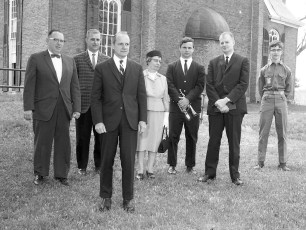 Claverack Reformed Church Memorial Service 1967