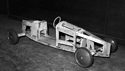 Soap Box Derby racing shell 1956