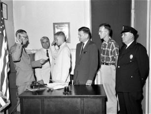 Soap Box Derby winner Mayor For A Day Hudson 1960