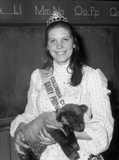 Col. Cty. Dairy Princess at St. Mary's Academy 1973 (1)