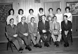 St. Mary'a Alumni group at Prom Kozal's 1968