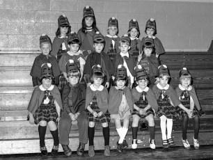 St. Mary's Academy 1st. Grade Basketball Hudson 1973 (6)
