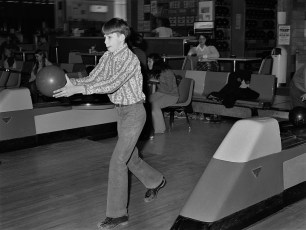 St. Mary's Academy Bowling Team at Hendrick Hudson Lanes 1973 (3)