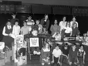 St. Mary's Academy Candy Sale Hudson 1974