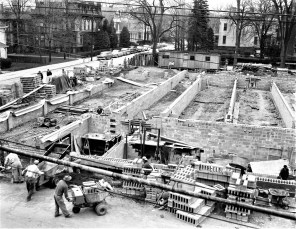 St. Mary's Academy construction May to Dec. 1956 (1c)