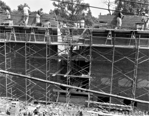 St. Mary's Academy construction May to Dec. 1956 (1f)