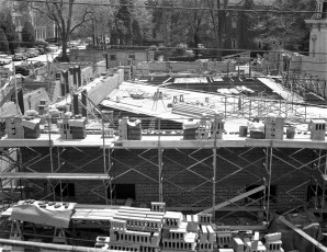 St. Mary's Academy construction May to Dec. 1956 (2)