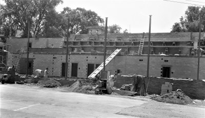 St. Mary's Academy construction May to Dec. 1956 (8)