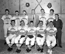 St. Mary's Baseball Team Hudson 1956