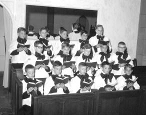 St. Mary's Choir Group 1965