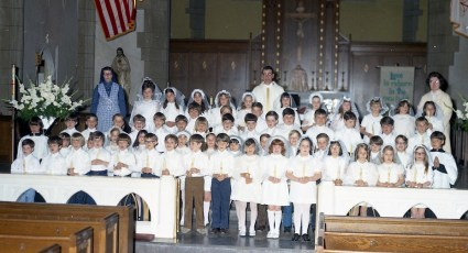 St. Mary's Church 1st. Communion 1972