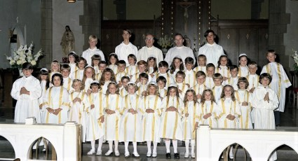 St. Mary's Church 1st. Communion Hudson 1974