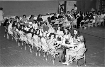 St. Mary's Elementary 8th Grade Graduation Luncheon Hudson 1971 (2)