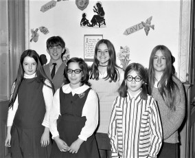 St. Mary's Elementary Poetry & Essay Contest Winners Hudson 1971