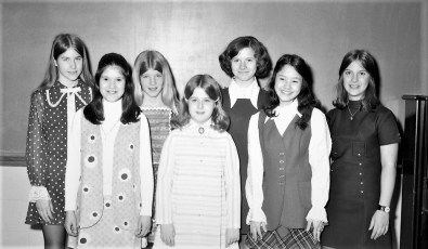 St. Mary's Elementary Student Piano Department Hudson 1971
