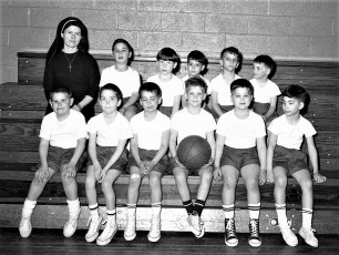 St. Mary's Kindergarten B-Ball 1968 (2)