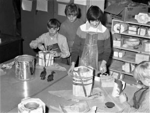 St. Mary's School Ceramics Class Hudson 1972 (3)