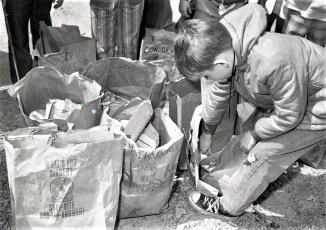 St. Mary's School Conservation Cleanup Day 1972 (1)