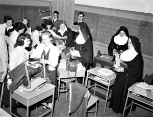 St. Mary's School Moving Day Jan. 7 1957 (3)