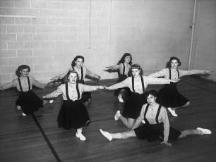 Tivoli HS Cheer leaders 1951
