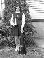 Tivoli School Cheerleaders 1949 (3)