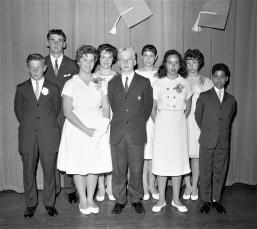 Tivoli High School Honor Students 1962