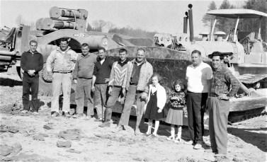 Harold Post & Family excavating Catskill 1964 (1)