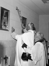 St. Patrick's Parish School Blessing of new school Catskill Sept. 1962 (6)