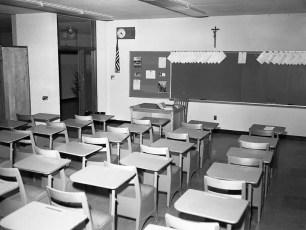 St. Patrick's Parish School Blessing of new school Catskill Sept. 1962 (7)