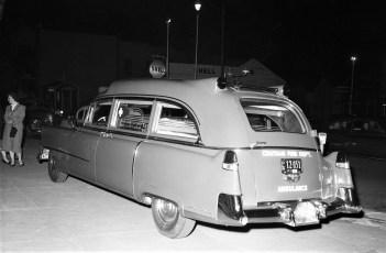 Chatham Rescue Squad New Ambulance 1954 (2)
